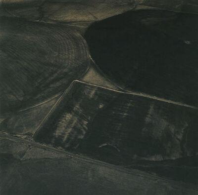 Emmet Gowin, 'Adjacent Fields, Washington', 1991