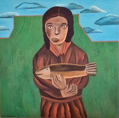 Salah Elmur, 'The Golden Fish', 2021