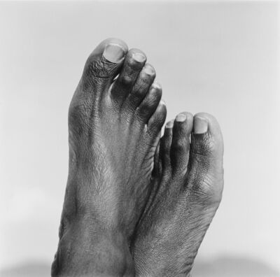 George Hallett, 'Peter Clarke's Feet', ca. 1965