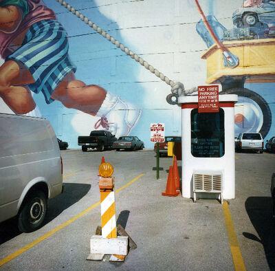 David Graham, 'P Star Parking, Dallas TX', 1997