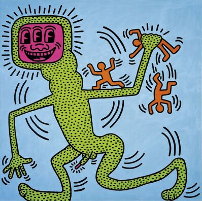 Keith Haring, 'Untitled, 13 April 1984', 1984