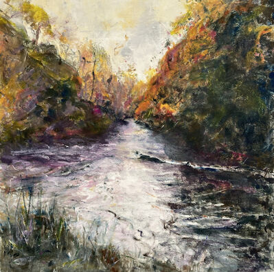 Helene Manzo, 'Fall River with Pink', ca. 2020