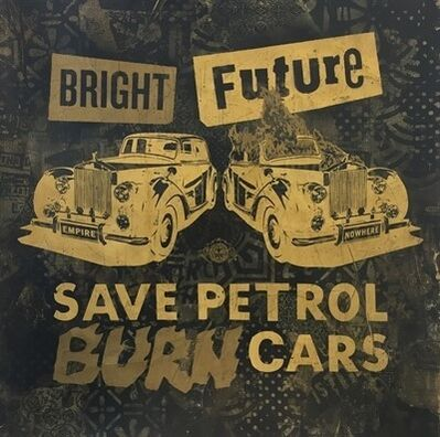"Shepard Fairey, '""Bright future""', 2012"