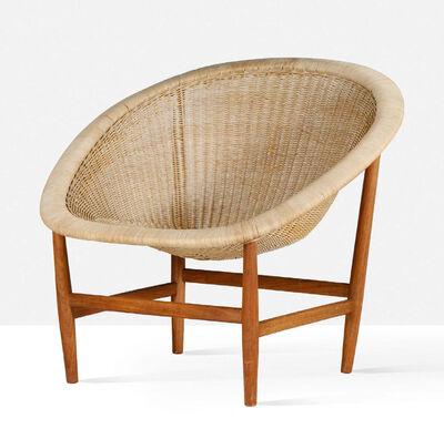 Nanna and Jorgen Ditzel, 'Wicker chair', circa 1960