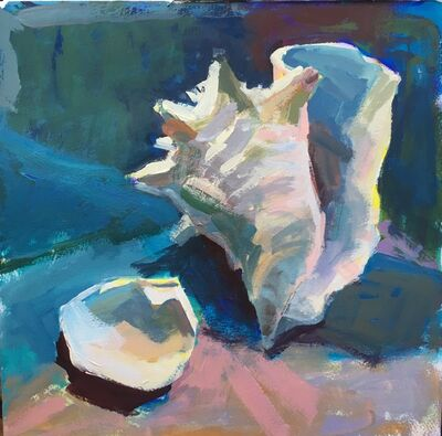 Janet Pedersen, 'Two Seashells', 2021
