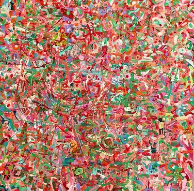 Vincent Pomilio, 'PINKPUSHGREEN', 2017