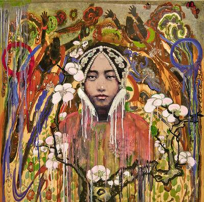 Hung Liu, 'Devotee ', 2016