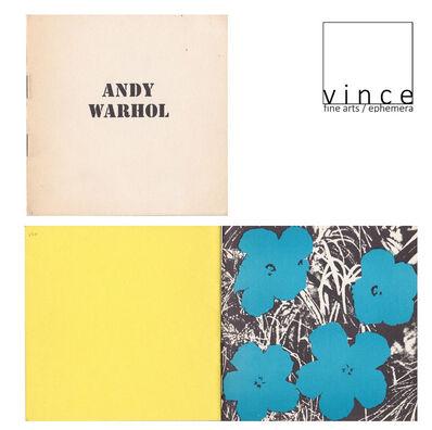"Andy Warhol, '""FLOWERS"", 1965, Exhibition Catalog Booklet, Ileana Sonnabend Gallery Paris', 1965"