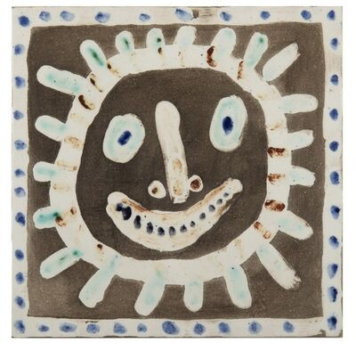 Pablo Picasso, 'Visage Solaire', 1956