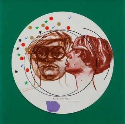 R. B. Kitaj, 'Plays for Total Stakes [Ramkalawon 32a]', 1968