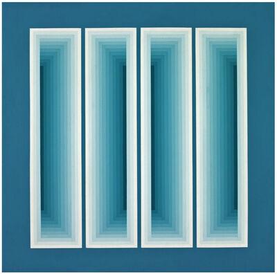 Sara Modiano, 'Cuatro ventanas', 1977