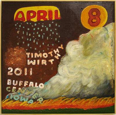 Tim Wirth, 'April 8', 2011