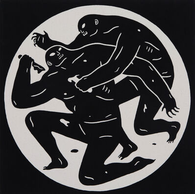 Cleon Peterson, 'Black Dot 1', 2015