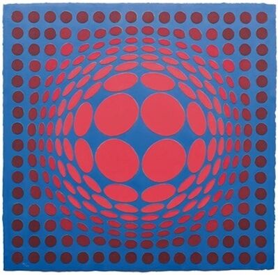 Victor Vasarely, 'Sinlag II', 1990