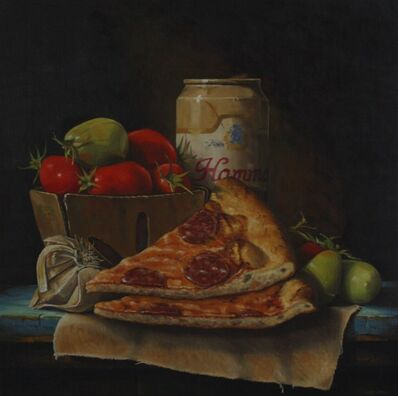 Hickory Mertsching, 'Frozen Pizza & Beer', 2019