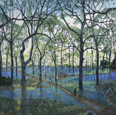 Emma Haworth, 'Bluebell Wood', 2016