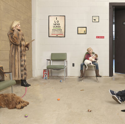 Julie Blackmon, 'Waiting Room', 2016
