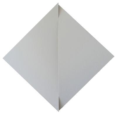 Jan Maarten Voskuil, 'Non-Fit Triangles (Gray)', 2017