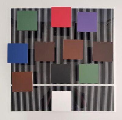 Jesús Rafael Soto, 'Blanc et Couleur', 1975