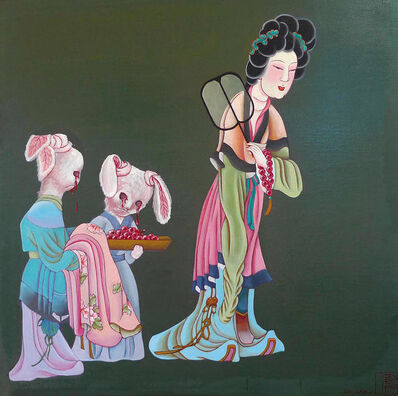 Hu Ming, 'New Prayer Beads '