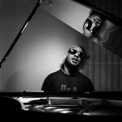 Michael Grecco, 'Stevie Wonder, Los Angeles, California', 1991
