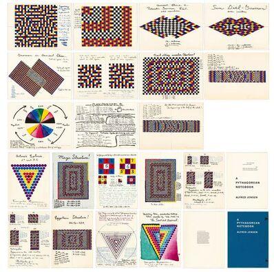 Alfred Jensen, 'A Pythagorean Notebook', 1965