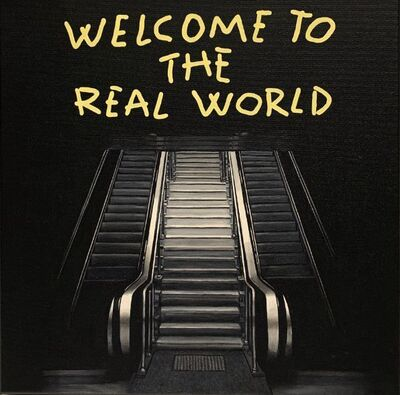 "Alejandro Monge, '""BLACK SERIES: WELCOME""', 2019"