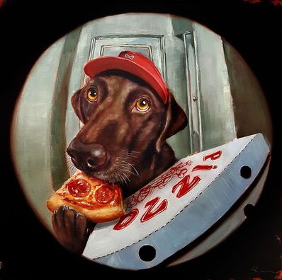Lucia Heffernan, 'Pupperoni Delivery', 2020