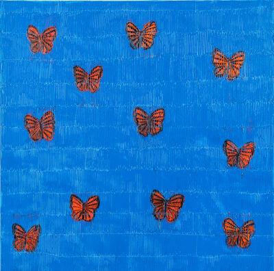 Hunt Slonem, 'Migration', 2020
