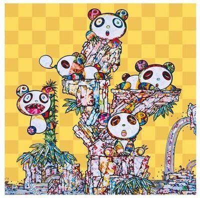 Takashi Murakami, 'Panda Cubs Panda Cubs', 2019