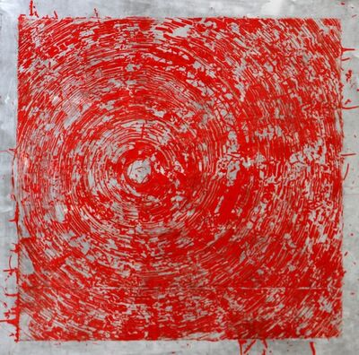 Szilárd Cseke, 'Red Swirl', 2015