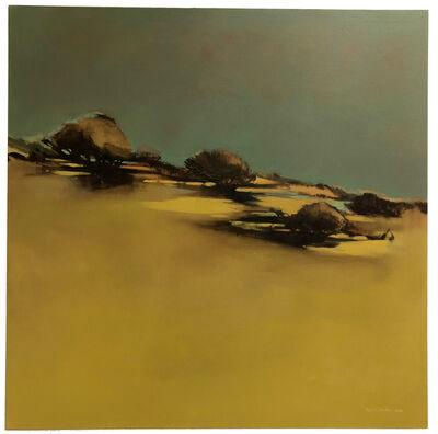 María José Concha, 'Yellow Green Landscape', 2014
