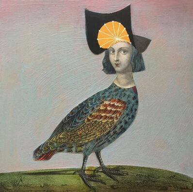 Suzanne Sbarge, 'Green-eyed Bird', 2016