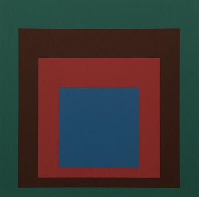 Josef Albers, 'Josef Albers Homage to the Square screen-print 1977 (Josef Albers prints)', 1977