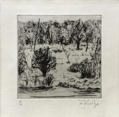 William Kentridge, 'Landscape', 1999