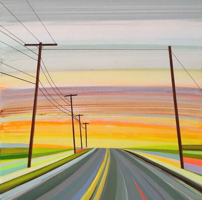 Grant Haffner, 'Dawn of New Day, Route 2 Mohawk Trail ', 2019