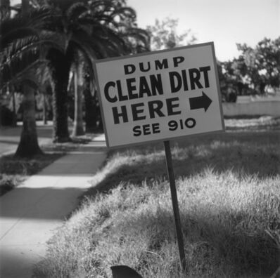 Slim Aarons, 'Clean Dirt - Signed Photograph', 1952