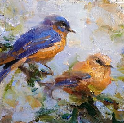 Derek Penix, 'Bluebirds', 2019