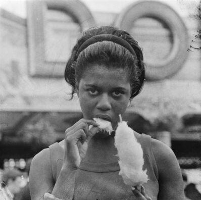 James Barnor, 'Rema Nelson, Drum test shoot, Battersea Park,  London, 1960', 2020