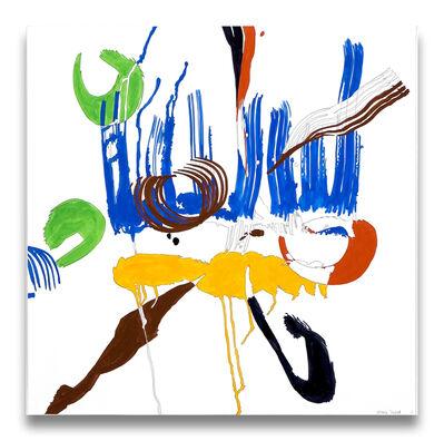 Ellen Priest, 'Jazz Cubano 48: Percussion Drawing', 2012