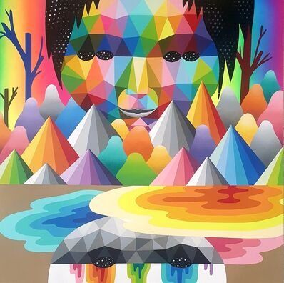 Okuda San Miguel, 'Face III', 2020