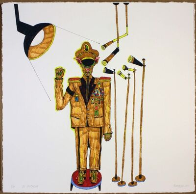 Luis Cruz Azaceta, 'The Dictator', 2011