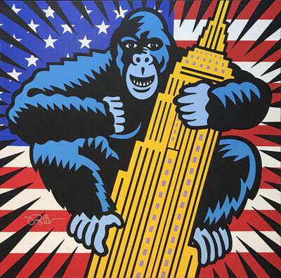 Burton Morris, 'King Kong USA', 2018