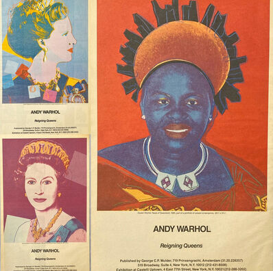 Andy Warhol, 'Warhol African Queens Advertisements, 1985', 1985