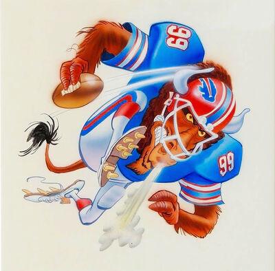 Jack Davis, 'Buffalo Bills Football Illustration'