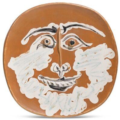 Pablo Picasso, 'Visage barbu', 1959