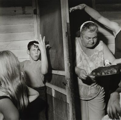 Larry Fink, 'Pat Sabatine's Eight Birthday Party, April,1977', 2003