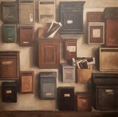 Jean-Daniel Bouvard, 'Les boites aux lettres', 1998