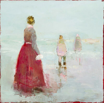 France Jodoin, 'What is summer in a fine brocaded gown', 2019