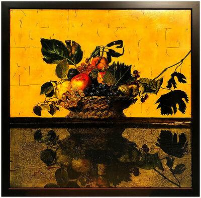 David Bierk, 'David Bierk Large Original Oil Painting On Board Signed Art Still Life Flowers', 1999